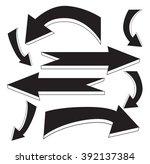 set vector illustration of... | Shutterstock .eps vector #392137384