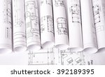 Architecture Plan And Rolls Of...