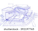 sketching   commercial and... | Shutterstock . vector #392197765