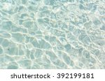 clear water background. | Shutterstock . vector #392199181