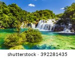 Waterfalls Krka  National Park...