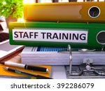 staff training   green office... | Shutterstock . vector #392286079