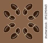 circular pattern  doodles ... | Shutterstock . vector #392290465