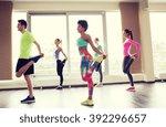 fitness  sport  training  gym... | Shutterstock . vector #392296657