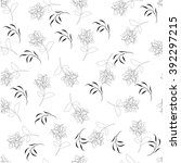 flower floral seamples pattern    Shutterstock .eps vector #392297215
