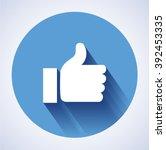 concept  glossy  stylish social ... | Shutterstock . vector #392453335