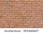 background of brick wall... | Shutterstock . vector #392460607