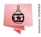 ornament doodle drawing | Shutterstock .eps vector #392489809