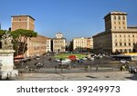 piazza venezia from the... | Shutterstock . vector #39249973