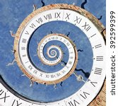 Droste Effect Of Clock On The...