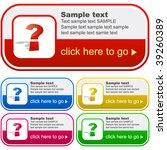set of design elements for sale. | Shutterstock .eps vector #39260389