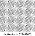 slanting lines clipped in... | Shutterstock . vector #392632489