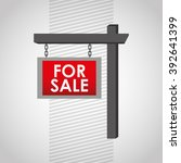 for sale design  vector... | Shutterstock .eps vector #392641399
