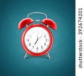 alarm clock | Shutterstock .eps vector #392674201