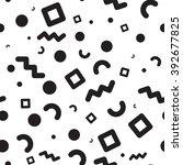 vector seamless pattern.... | Shutterstock .eps vector #392677825