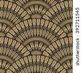 vector abstract seamless... | Shutterstock .eps vector #392711545