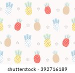 abstract cute colorful coral... | Shutterstock .eps vector #392716189