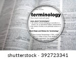 dictionary showing the word ... | Shutterstock . vector #392723341