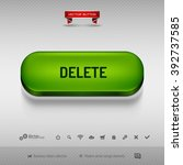 green button for webdesign or... | Shutterstock .eps vector #392737585