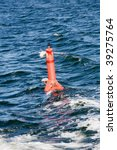 navigation mark with number on... | Shutterstock . vector #39275764