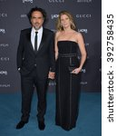 Small photo of LOS ANGELES, CA - NOVEMBER 7, 2015: Alejandro Gonzalez Inarritu & wife Maria Eladia Hagerman at the 2015 LACMA Art+Film Gala at the Los Angeles County Museum of Art
