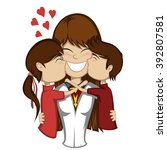 lovin' mommy collection   a...   Shutterstock .eps vector #392807581