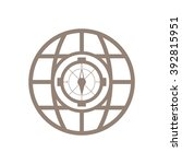 compass  icon   isolated....