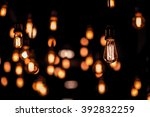 retro light lamp   Shutterstock . vector #392832259