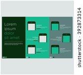 app brochure design template