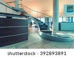 modern office interior. | Shutterstock . vector #392893891