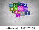 user interface   Shutterstock . vector #392894161