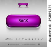 purple button for webdesign or...