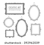 vector illustration of set of... | Shutterstock .eps vector #392962039