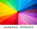 rainbow spectrum multicolored... | Shutterstock . vector #392962315