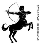 centaur concept of mythical...