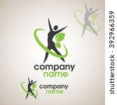 fitness logo | Shutterstock .eps vector #392966359