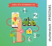 cool vector infographics... | Shutterstock .eps vector #393025681