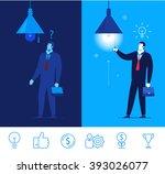flat design vector concept... | Shutterstock .eps vector #393026077