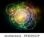 orbits of destiny series.... | Shutterstock . vector #393034219