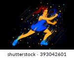 easy to edit vector... | Shutterstock .eps vector #393042601