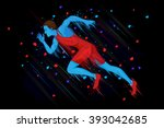 easy to edit vector... | Shutterstock .eps vector #393042685