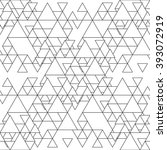 triangular seamless vector... | Shutterstock .eps vector #393072919