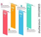 business infographics vector... | Shutterstock .eps vector #393109855