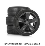 sport tires | Shutterstock . vector #393161515