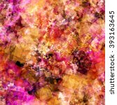 pink  orange  white and black... | Shutterstock .eps vector #393163645