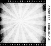 vintage paper with film strip | Shutterstock . vector #39318010