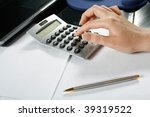 Typing Numbers For Income Tax...