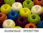 balls of thread crochet | Shutterstock . vector #393207784