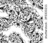 abstract elegance seamless... | Shutterstock .eps vector #393333211