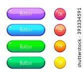 vector illustration interface... | Shutterstock .eps vector #393334591